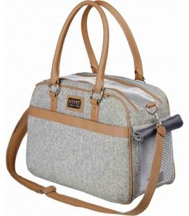 Přepravní taška  19 x 28 x 40 cm šedá