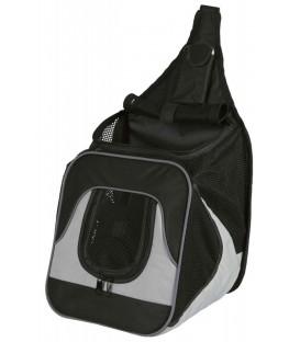 Nylonový batoh klokanka 30x26x33cm černo-šedý